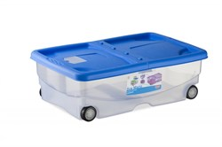 Stefanplast - Контейнер для хранения корма, 60х40х18см, 26л (цвет в ассортименте) Container Mario Assorted - фото 18765