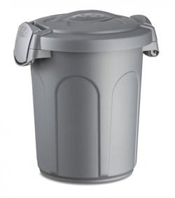 Stefanplast - Контейнер для хранения корма, 24x27x31см, 8л (серебряный) Container Speedy Silver - фото 18767
