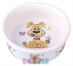 "Dezzie - Миска для собак ""Желание"", 300 мл,12,5*4,5 см керамика - фото 18803"
