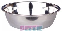 Dezzie - Миска для собак, металл 350 мл 14,2*4 см - фото 18810