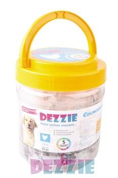 Dezzie - Лакомство для собак (сосиски из курицы) в банке 35 штук - фото 18930