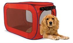 Kitty City - Переносной домик для собак средних пород Portable dog kennel medium, 81*49,5*49.5 см - фото 19079