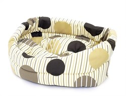 Benelux - Лежак для собак с подушкой  36*30*15 см Dogbasket size 1 - фото 19111