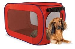 Kitty City - Переносной домик для собак малых пород Portable Dog Kennel Small, 66*37*37 см - фото 19118