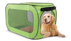 Kitty City - Переносной домик для собак гигантских пород Portable Dog Kennel X-Large, 102*62*62 см - фото 19119