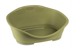 Stefanplast - Пластиковый Лежак Sleeper 3: 81*55*32см, зеленый - фото 19127