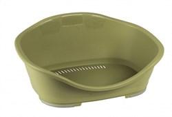 Stefanplast - Пластиковый Лежак Sleeper 1: 57*42*24см, зеленый - фото 19128