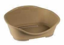 Stefanplast - Пластиковый Лежак Sleeper 1: 57*42*24см, песочный - фото 19144