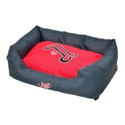 """Rogz - Лежак с бортиком и двусторонней подушкой """"Красные косточки"""", средний (72x45x25 см) SPICE WALL BED MEDIUM - фото 19171"""