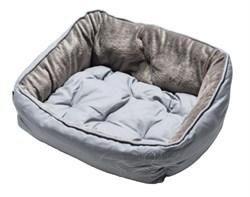 "Rogz - Мягкий лежак с двусторонней подушкой ""Серая косточка"", размер XS (43х30х19см) LUNA PODZ SMALL - фото 19198"