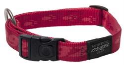 Rogz - Ошейник, красный (размер L (34-56 см), ширина 2 см) ALPINIST SIDE RELEASE COLLAR - фото 19377