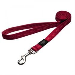 Rogz - Поводок, красный (размер XL - ширина 2,5 см, длина 1,2 м) ALPINIST FIXED LEAD - фото 19611