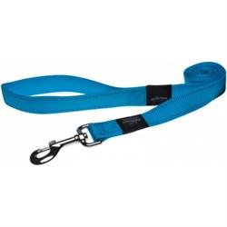Rogz - Поводок, голубой (размер L - ширина 2 см, длина 1,4 м) UTILITY FIXED LEAD - фото 19639