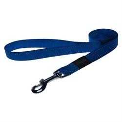 Rogz - Поводок, синий (размер L - ширина 2 см, длина 1,4 м) UTILITY FIXED LEAD - фото 19646