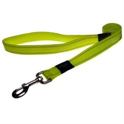 Rogz - Поводок, желтый (размер M - ширина 1,6 см, длина 1,4 м) UTILITY FIXED LEAD - фото 19650