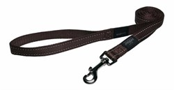Rogz - Поводок, шоколадный (размер S - ширина 1,1 см, длина 1,8 м) UTILITY FIXED LEAD - фото 19680