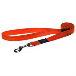 Rogz - Поводок, оранжевый (размер XL - ширина 2,5 см, длина 1,2 м) UTILITY FIXED LEAD - фото 19685