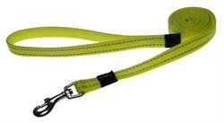 Rogz - Удлиненный поводок, желтый (размер L - ширина 2 см, длина 1,8 м) UTILITY FIXED LONG LEAD - фото 19833