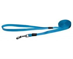 Rogz - Удлиненный поводок, голубой (размер M - ширина 1,6 см, длина 1,8 м) UTILITY FIXED LONG LEAD - фото 19842