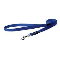 Rogz - Удлиненный поводок, синий (размер M - ширина 1,6 см, длина 1,8 м) UTILITY FIXED LONG LEAD - фото 19848
