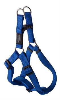 Rogz - Шлейка разъемная, синий (размер M (42-61 см), ширина 1,6 см) UTILITY STEP IN HARNESS - фото 19914
