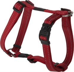 Rogz - Шлейка, красный (размер L (45-75 см), ширина 2 см) UTILITY H-HARNESS - фото 19989