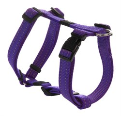 Rogz - Шлейка, фиолетовый (размер M (32-52 см), ширина 1,6 см) UTILITY H-HARNESS - фото 19993
