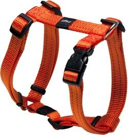 Rogz - Шлейка, оранжевый (размер M (32-52 см), ширина 1,6 см) UTILITY H-HARNESS - фото 20001