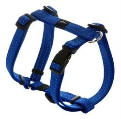 Rogz - Шлейка, синий (размер M (32-52 см), ширина 1,6 см) UTILITY H-HARNESS - фото 20004