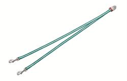 Flexi - Ремень-сворка для двух маленьких собак, размер S (бирюзовая) Vario Duo Belt turquoise - фото 20032