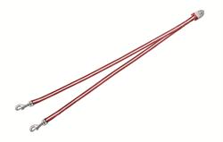 Flexi - Ремень-сворка для двух маленьких собак, размер S (красная) Vario Duo Belt red - фото 20034