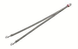Flexi - Ремень-сворка для двух маленьких собак, размер S (серая) Vario Duo Belt antracite - фото 20036