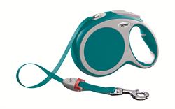 Flexi - Рулетка-ремень для собак, размер L - 8 м до 50 кг (бирюзовая) Vario tape turquoise - фото 20090