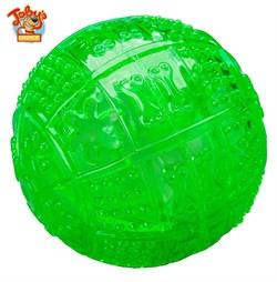 """Kitty City - Игрушка для собак """"Мяч для развлечения и угощения"""" Toby's Choice Treat Ball, 8,2 см - фото 20209"""