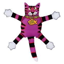 "Kitty City - Игрушка ""Кот-забияка"" мини FATCAT Mini Terrible Nasty Scaries, фиолетовый - фото 20217"