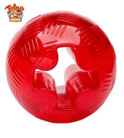 """Kitty City - Игрушка для собак """"Супер прочный мяч"""" Super Tough Ball Medium, 6,3 см - фото 20222"""