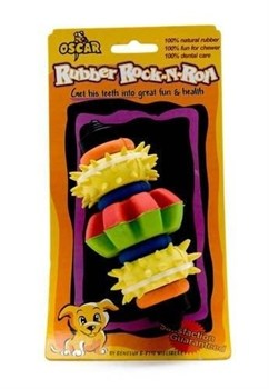 """Benelux - Игрушка резиновая для собак """"Для чистки зубов №2"""" 23*13*3 см - фото 20232"""