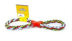 """Benelux - Игрушка для собак """"Хлопковый канат Бесконечность"""" , 38*16*2 см Coton dog toy color 290 gr - фото 20245"""
