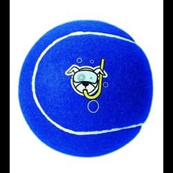 Rogz - Игрушка теннисный мяч, малый (синий) TENNISBALL SMALL - фото 20318
