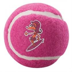 Rogz - Игрушка теннисный мяч, средний (розовый) TENNISBALL MEDIUM - фото 20322