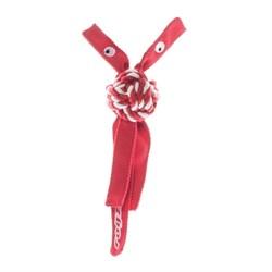 Rogz - Канатная игрушка с пищалкой, большая (красный) COWBOYZ ROPE TOY - фото 20329