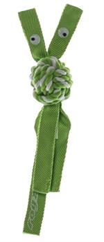 Rogz - Канатная игрушка с пищалкой, большая (лайм) COWBOYZ ROPE TOY - фото 20330
