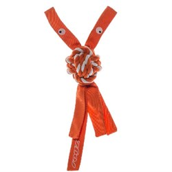 Rogz - Канатная игрушка с пищалкой, малая (оранжевый) COWBOYZ ROPE TOY - фото 20336