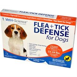 Vetri-Science защита от блох и клещей для собак от 10 кг до 20 кг, 1 аппликатор на 1,33 мл - фото 20433