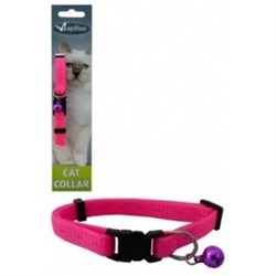 """Papillon - Ошейник для кошек """"Сэсси"""" 10 мм, 21 - 33 см, розовый - фото 20434"""
