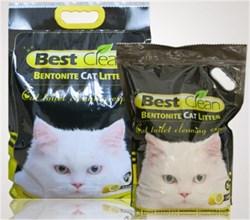 Best Clean - Наполнитель комкующийся для кошек (лимон) - фото 20780