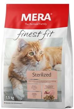 "Mera - Сухой полнорационный корм для стерилизованных кошек (с птицей) Finest Fit ""Sterilized"" - фото 20918"