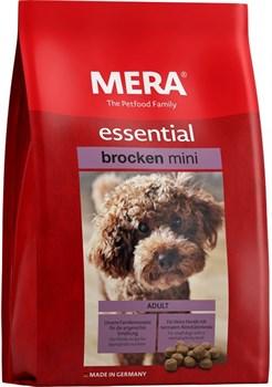 Mera - Сухой полнорационный корм для взрослых собак малых пород с нормальным уровнем активности essential Brocken MINI - фото 20934