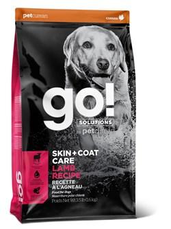 GO! Natural Holistic - Для щенков и собак (со свежим Ягненком) SKIN + COAT Lamb Meal Recipe DF - фото 20969