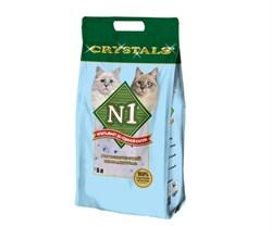 N1- Силикагелевый наполнитель, 5л, (Синий) Crystals - фото 21009